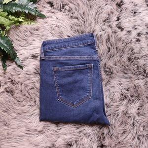 Old Navy Rockstar Midrise Jeans Size 4 Dark Wash